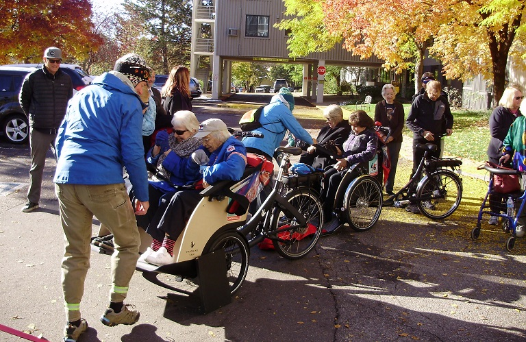 68d6c40ace The Cycling Without Age program was launched by Eaton Senior Communities in  partnership with the City of Lakewood